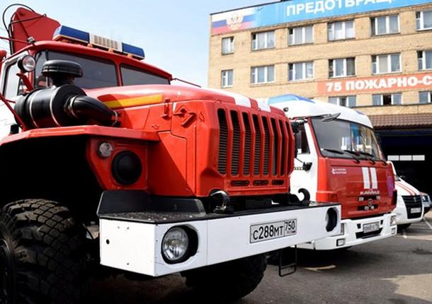 Две пожарные части будут строить в Балашихе в 2019 году